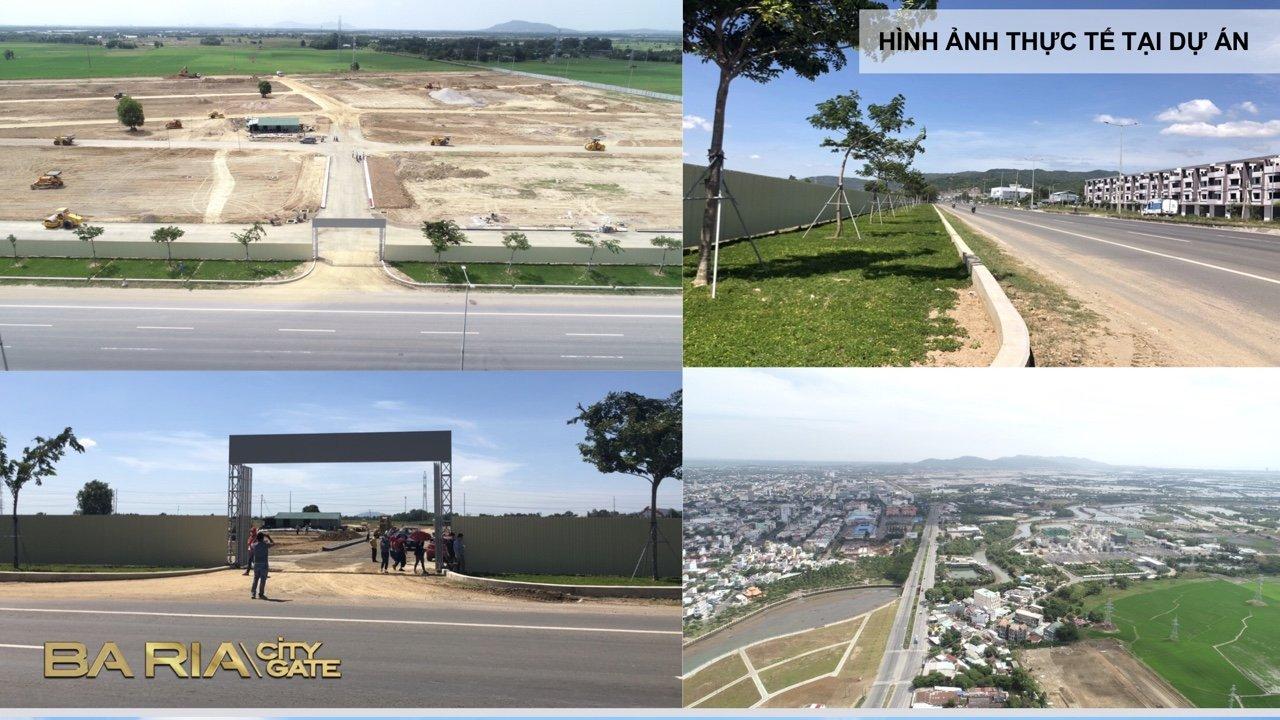 Hình ảnh thực tế Ba Ria City Gate