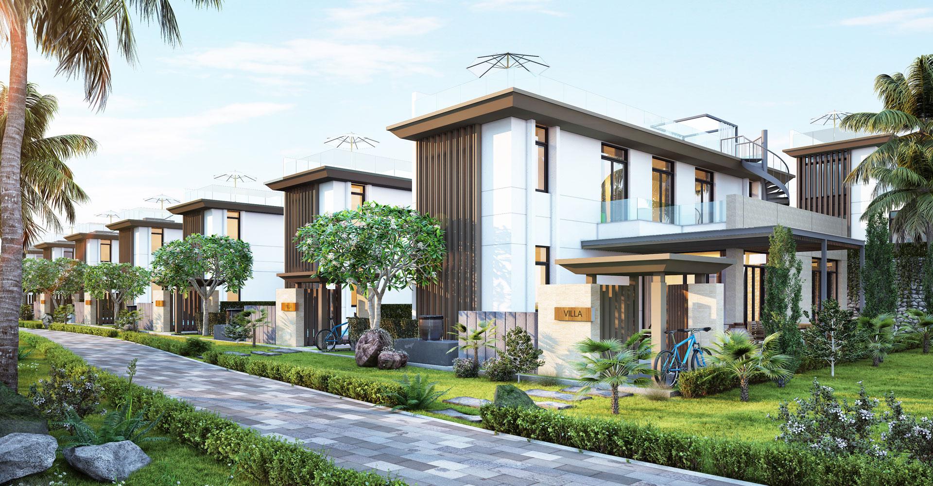 Mẫu biệt thự Cam Ranh Mystery Villas Hưng Thịnh