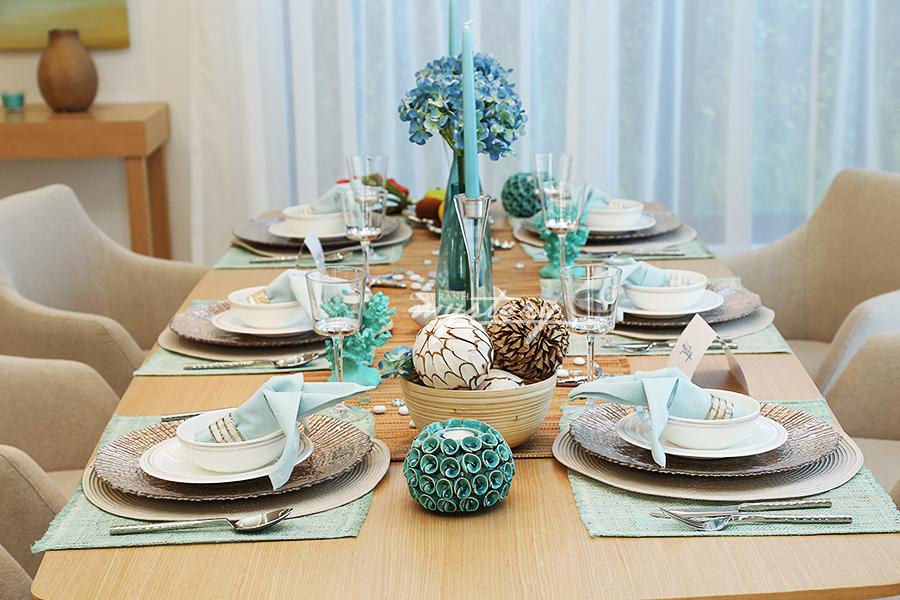 Phòng ăn Cam ranh Mysetry Villas sang trọng và ấm cúng