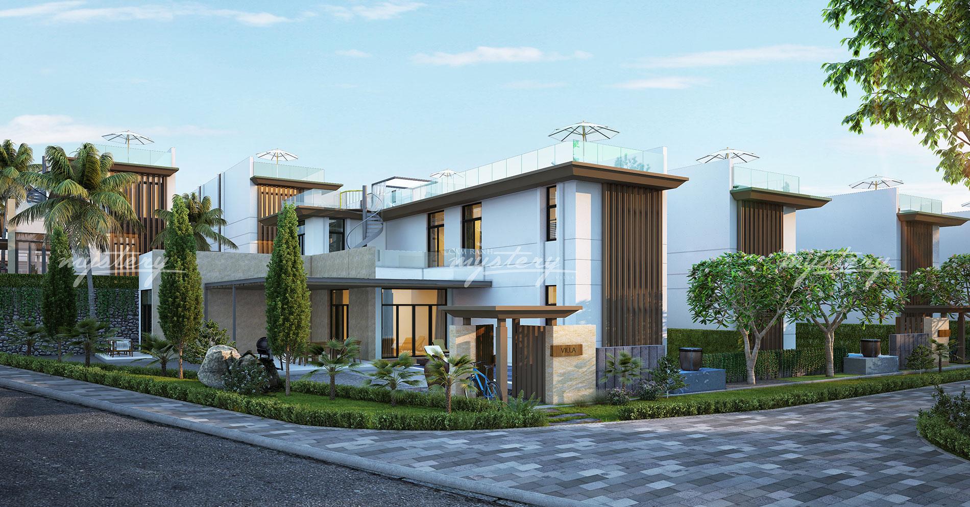 Mẫu biệt thự Cam Ranh Mystery Villas của tập đoàn Hưng Thịnh