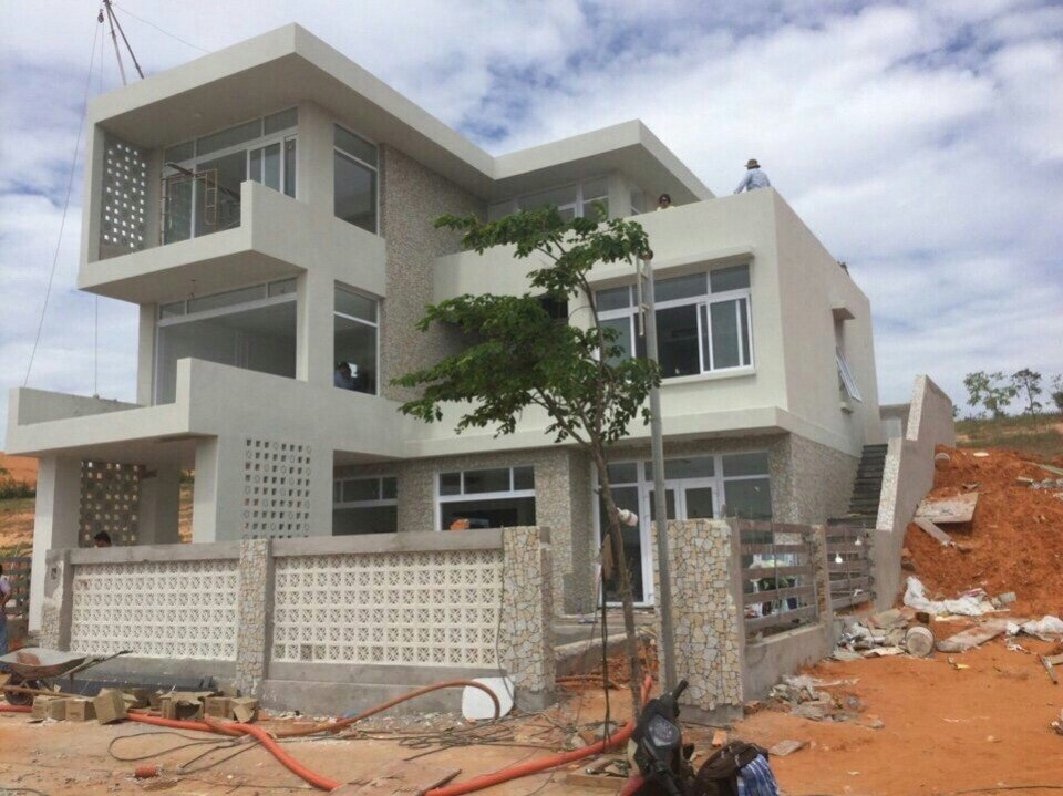 Hình ảnh thực tế tại dự án Sentosa Villas Hưng Thịnh