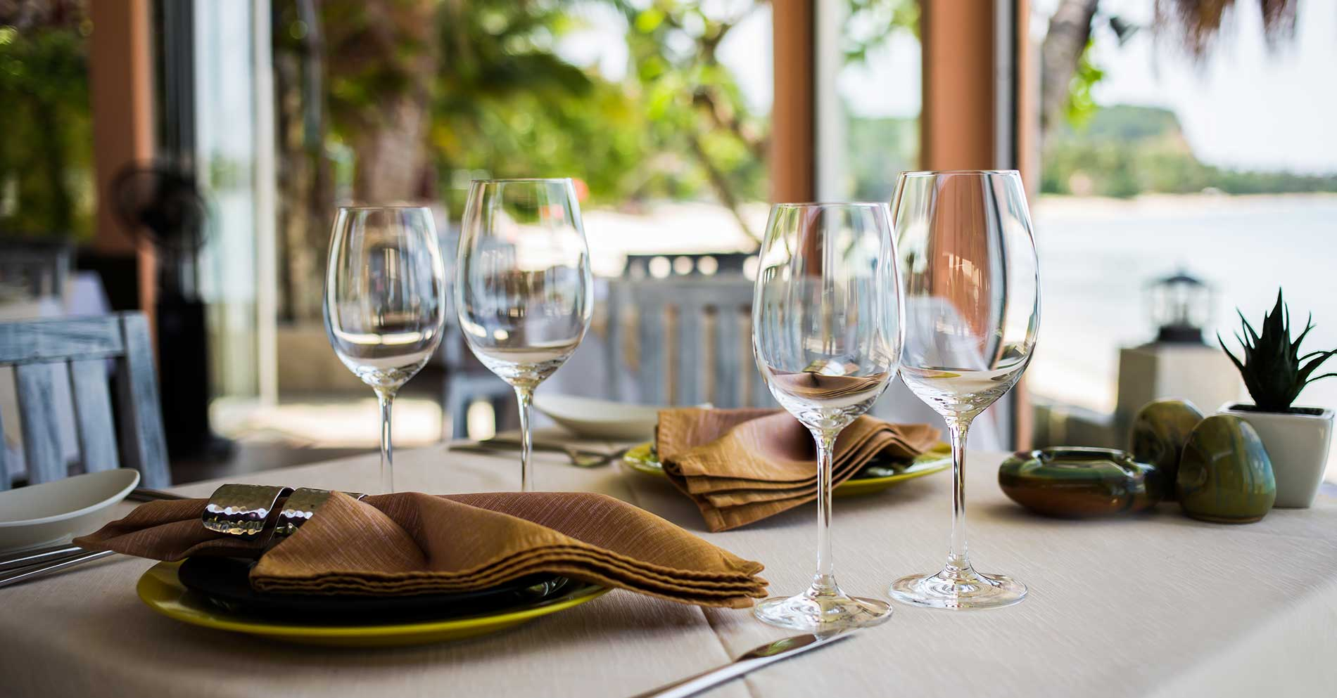 Khu nhà hàng sang trọng đẳng cấp tại dự án Cam Ranh Mystery Villas