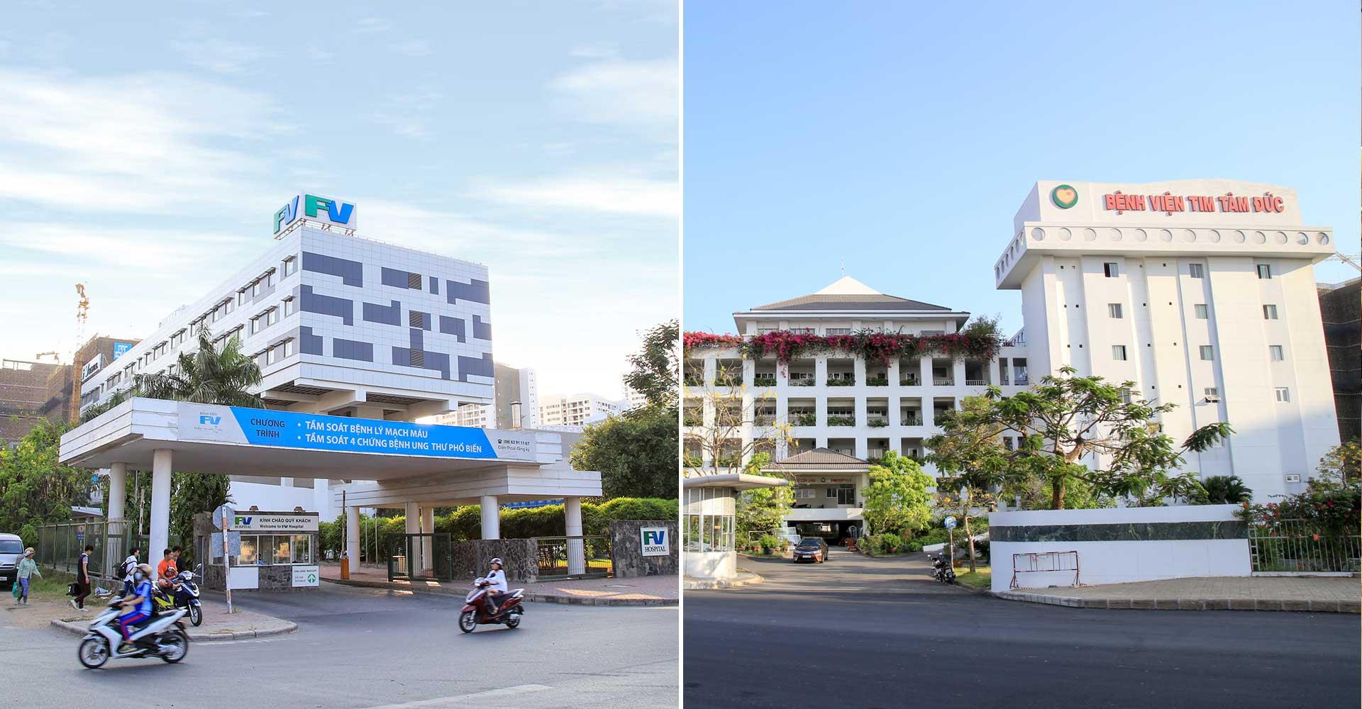 Hệ thống bệnh viện quốc tế cạnh Citizents Khu Trung Sơn Hưng Thịnh