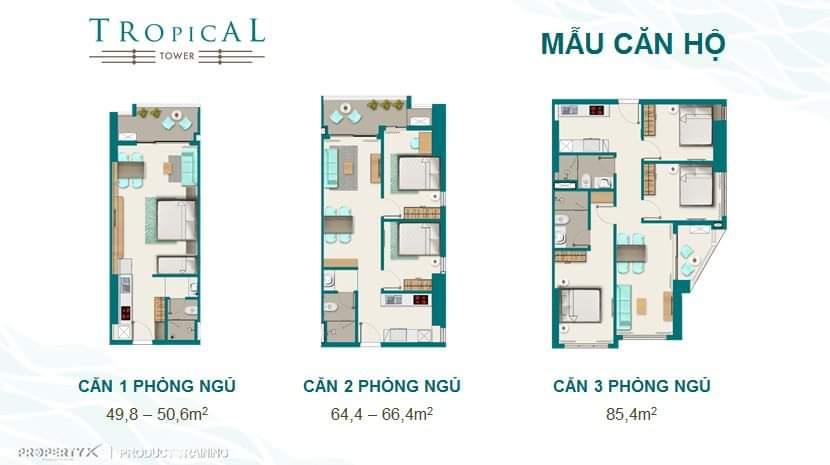 Thiết kế chi tiết căn hộ Quy Nhơn Melody