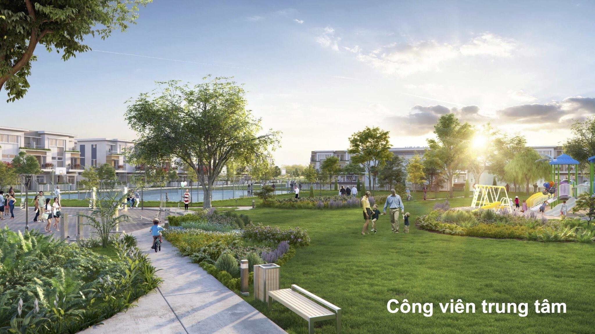 Công viên trung tâm dự án Florita quận 7