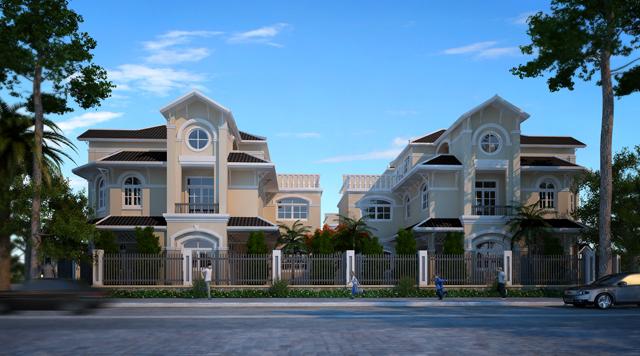Mẫu nhà phố 12x18 Golden Bay Cam Ranh Hưng Thịnh