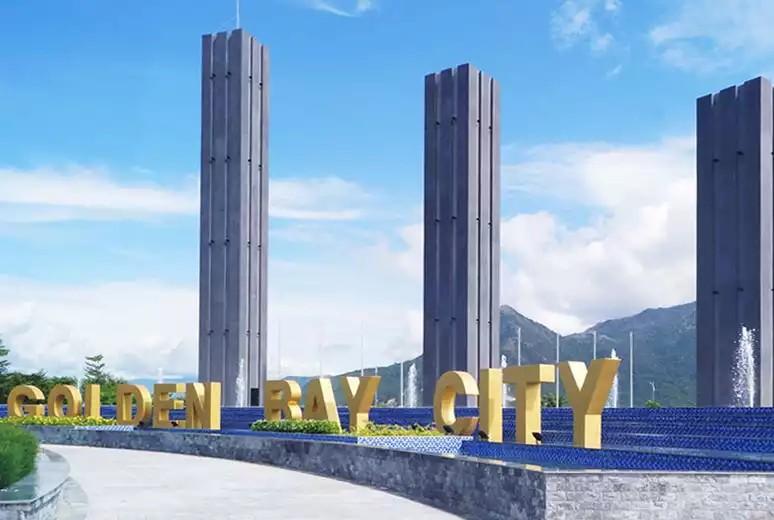 Cổng chào dự án Golden Bay Cam Ranh Hưng Thịnh