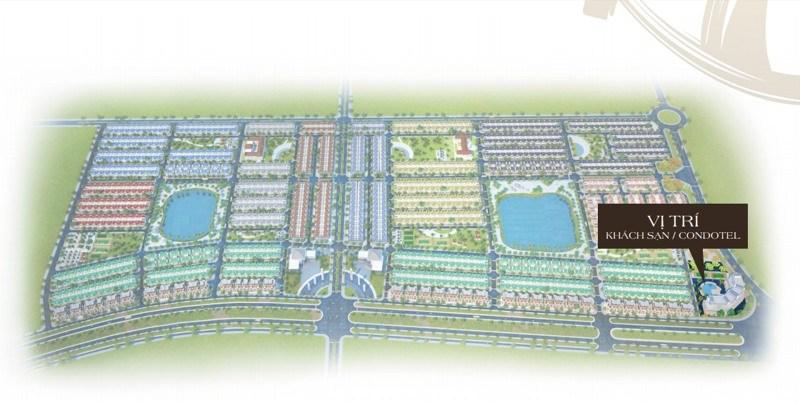 Vị trí dự án Golden Bay Cam Ranh Hưng Thịnh