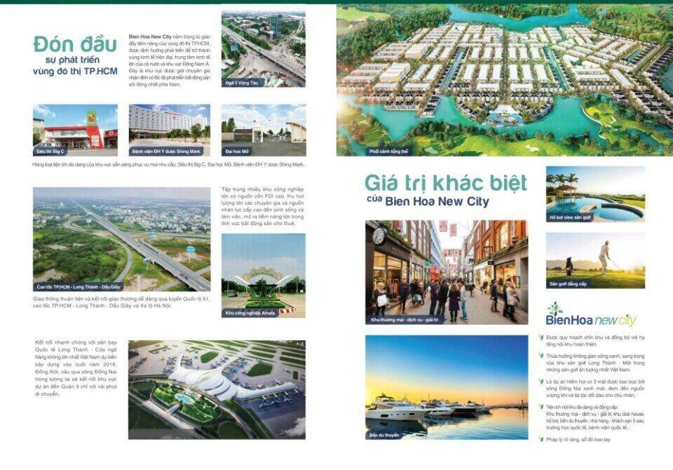 Tiện ích ngoại khu dự án Bien Hoa New City