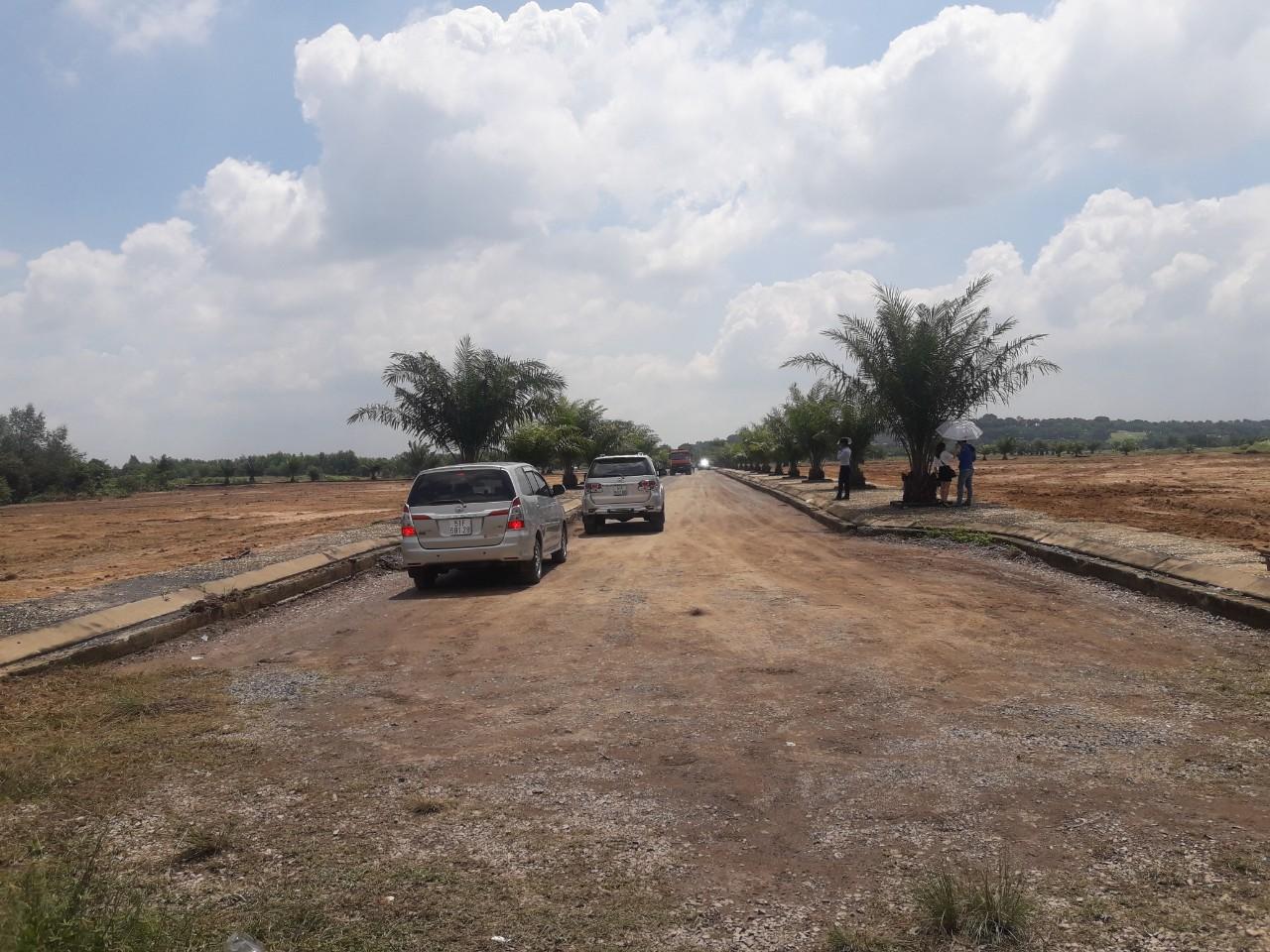 Hiện trạng đất san lấp tại BienHoa Newcity