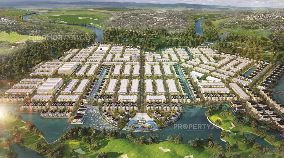 Phối cảnh tổng thể dự án Biên Hoa New City Hưng Thịnh