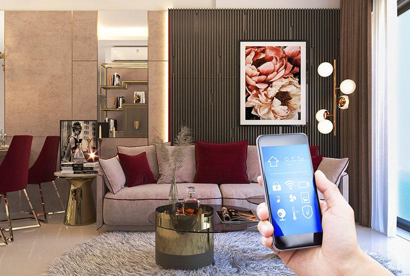 Căn hộ Grand Center Quy Nhơn với thiết kế thiết bị điện Smart Electronic