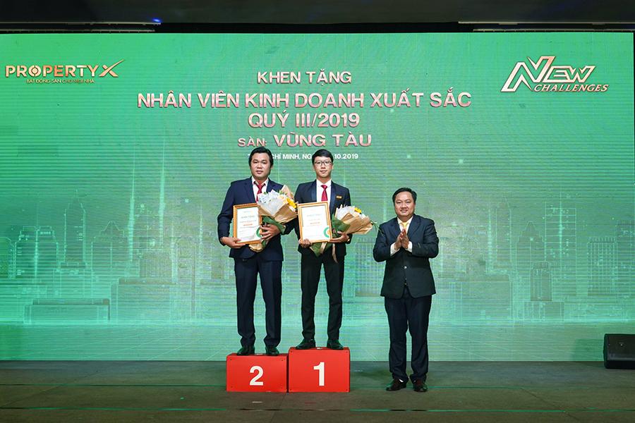Top 2 nhân viên xuất sắc nhất Sàn Vũng Tàu