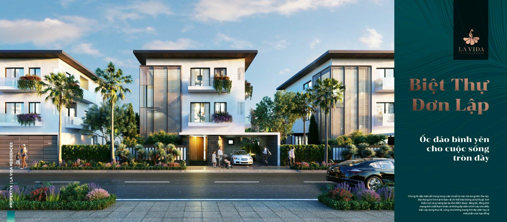 Biệt thự đơn laaoj Lavida Residences Vũng Tàu