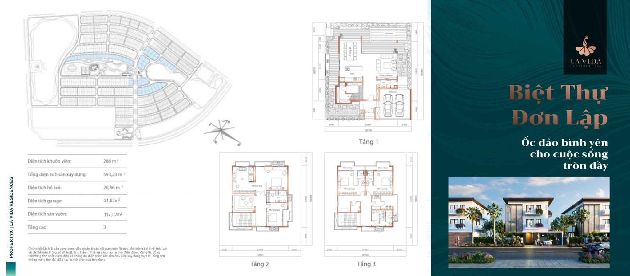 Biệt thự đơn lập Lavida Residences Vũng Tàu