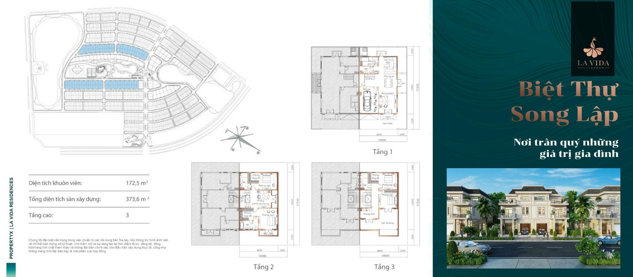 Biệt thự song lập Lavida Residences Vũng Tàu