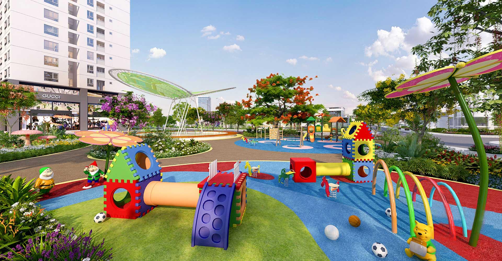 KHu vui chơi trẻ em dành riêng cho các gia đình trẻ tại Lavita Garden Quận Thủ Đức