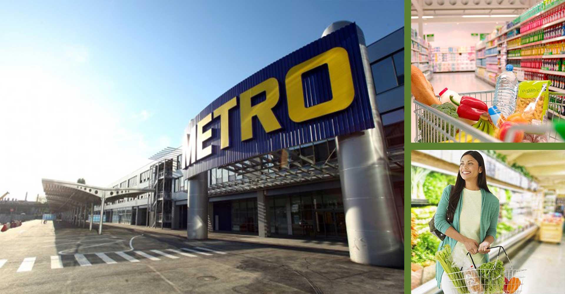 Hệ thống siêu thị Metro đa dạng các loại hàng hóa