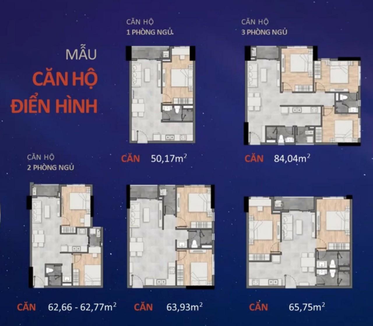 Thiết kế căn hộ New Galaxy