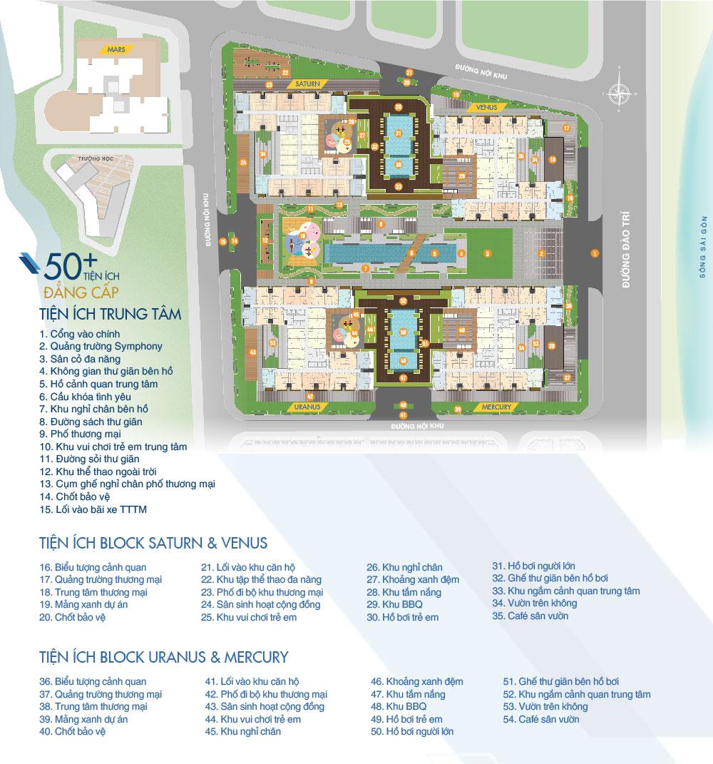 Tiện ích dự án căn hộ Q7 Saigon Riverside Complex Hưng Thịnh