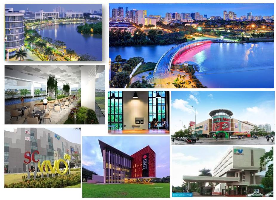Tiện ích ngoại khu dự án Q7 Saigon Riverside Complex