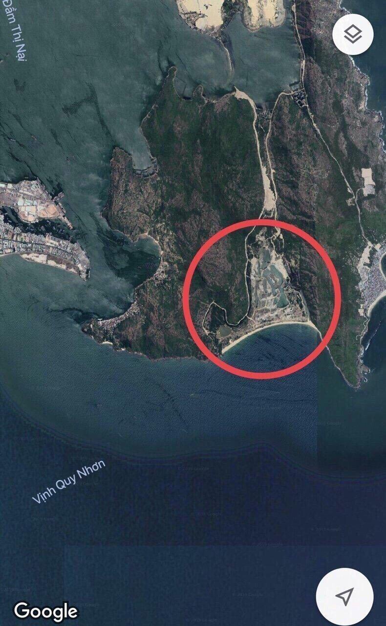 Vị trí khu Hải Giang trên bảo đồ