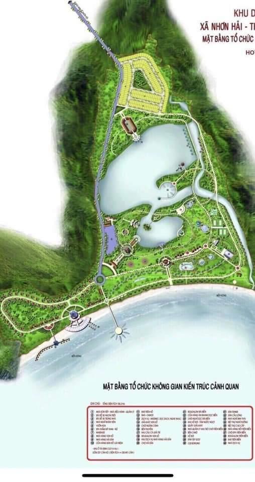 Mặt bẳng dự án Qui Nhơn Symphony Of The Sea & Sun