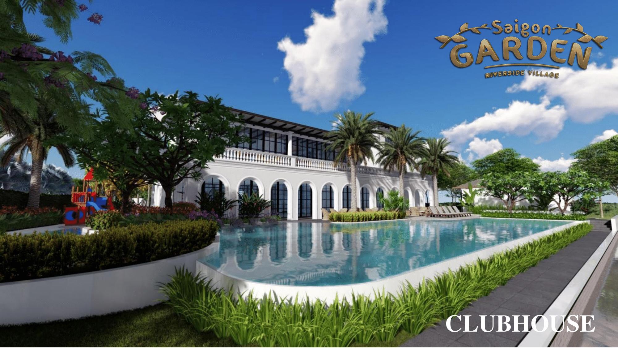 Clubhouse tại dự án Saigon Garden Riverside Village