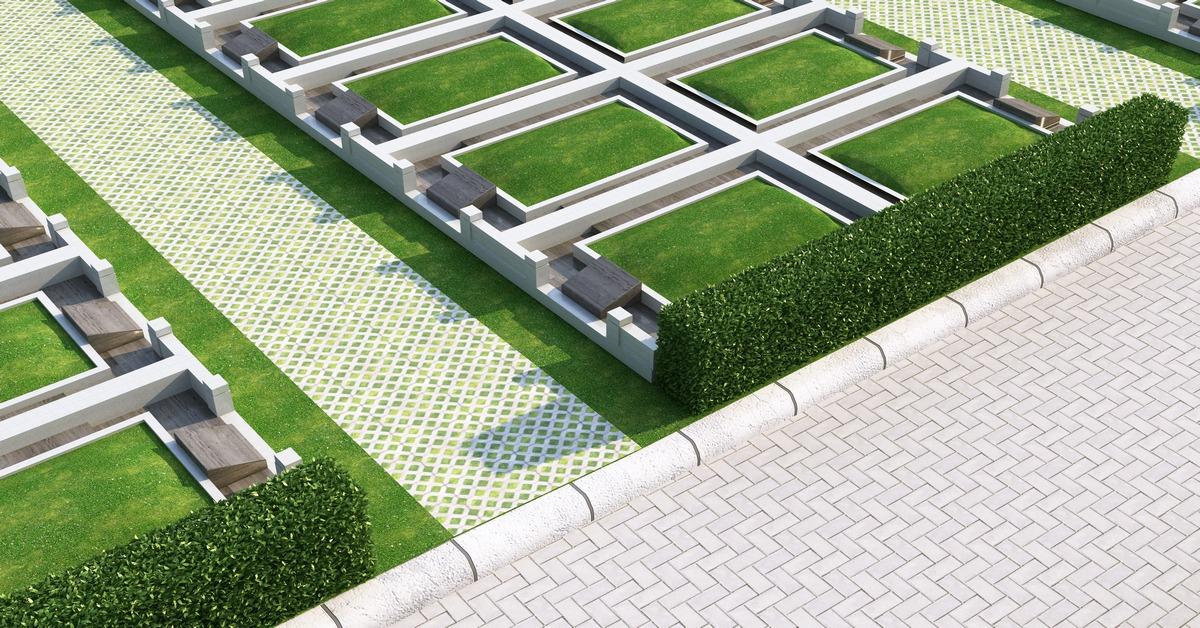 Thiết kế chi tiết mộ đơn khu Sala Garden
