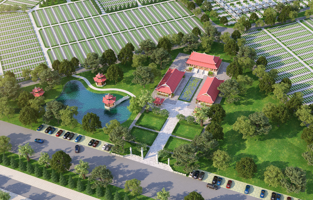 Thiền viện nghĩa trang Sala Garden