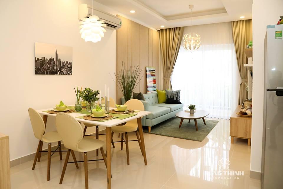Căn hộ mẫu 2 PN Moonlight Boulevard quận Bình Tân