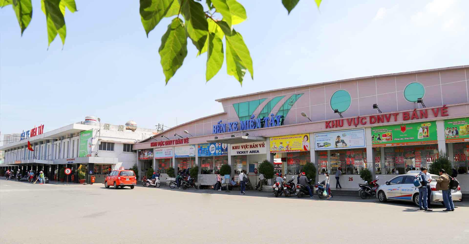 Bến xe miền Tây gần ngay Moonlight Park View quận Bình Tân