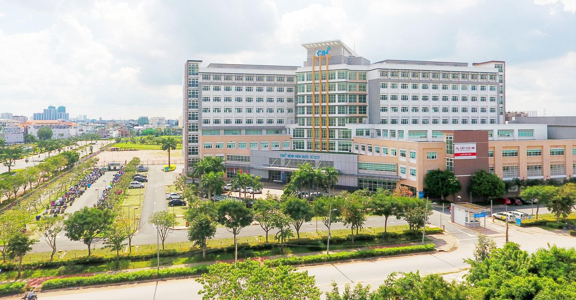 Trung tâm y tế kĩ thuật cao Hoa Lâm gần ngay dự án Sonata Residences quận Bình Tân