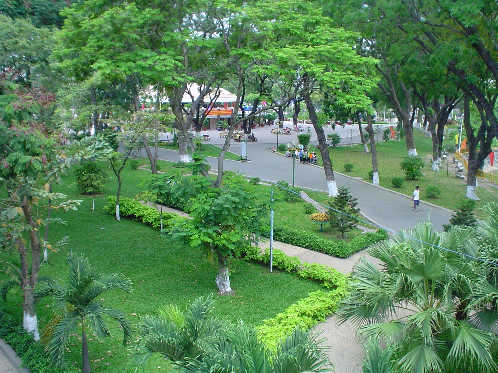Công viên Phú Lâm quận Bình Tân gần dự án Moonlight Boulevard của Hưng Thịnh