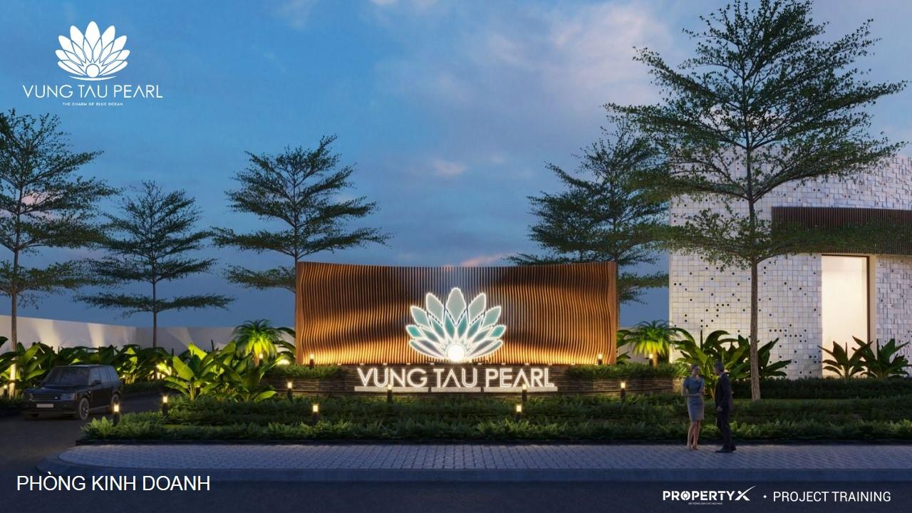 Cổng chính dự án Vung Tau Pearl