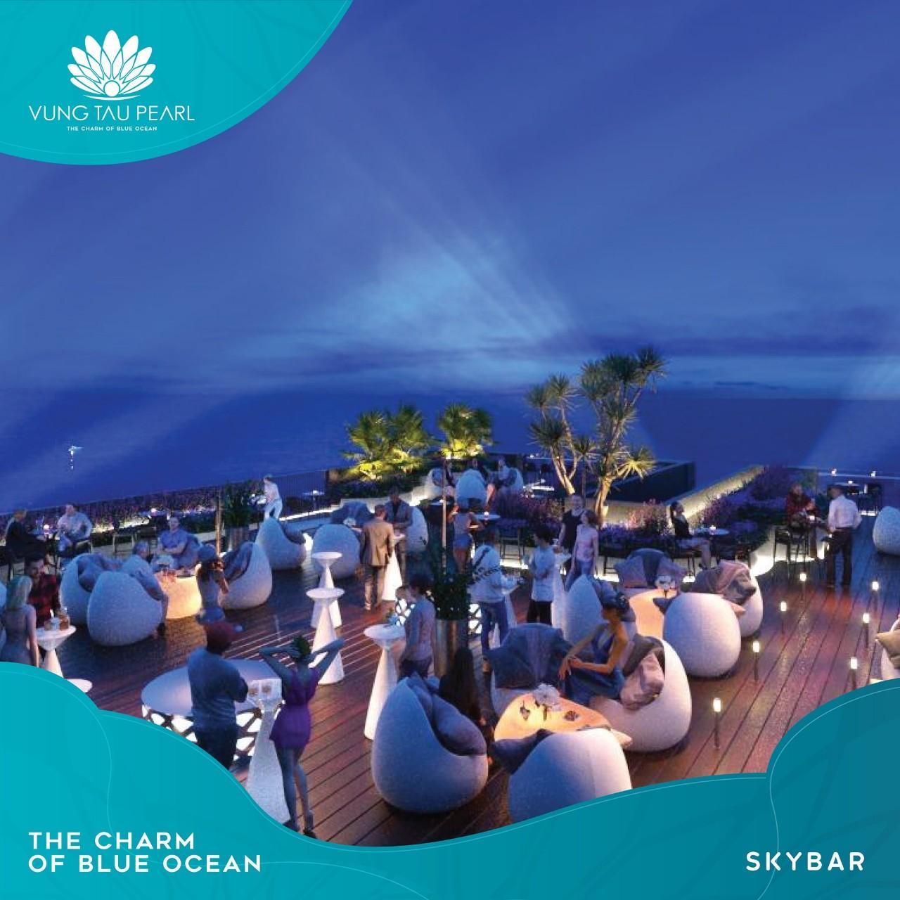 Sky bar tầng 33 dự án Vung Tau Pearl